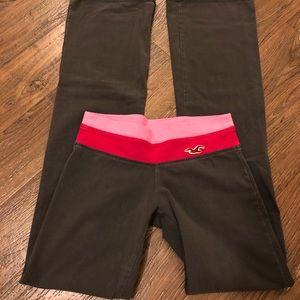 Hollister flare yoga pants